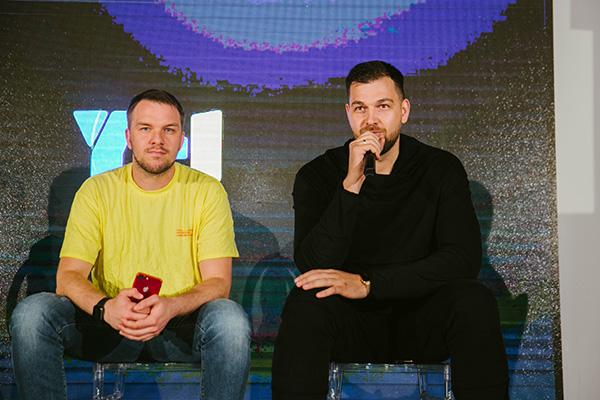 Спикеры круглого стола — генеральный директор федеральной сети салонов красоты GOLOVA Егор Козловский и Александр Долгов.